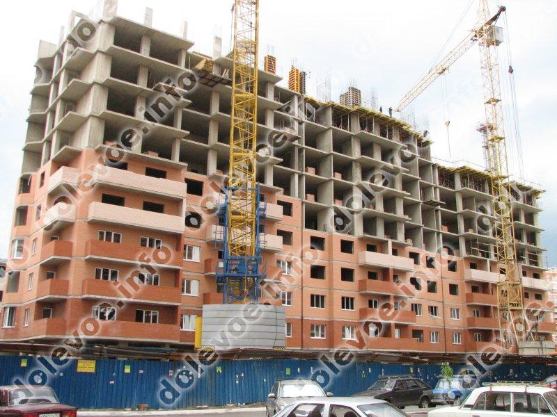 Фото новостройки Жилой дом по ул. Кожевенная, 32 от Нефтестройиндустрия-Юг (26.06.2012)